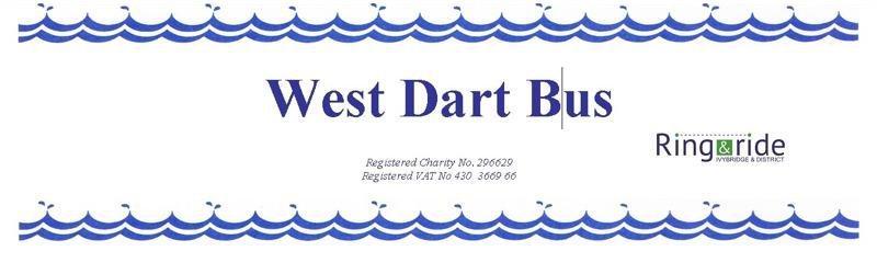 The West Dart Bus is operating again!